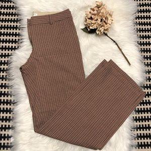 Trina Turk plaid dress pants